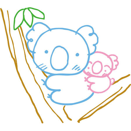 コアラの画像 p1_19